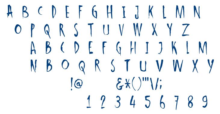 DK Ishtar font