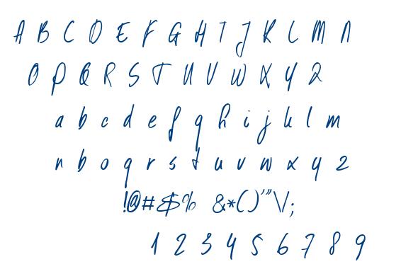 DK Kusukusu font