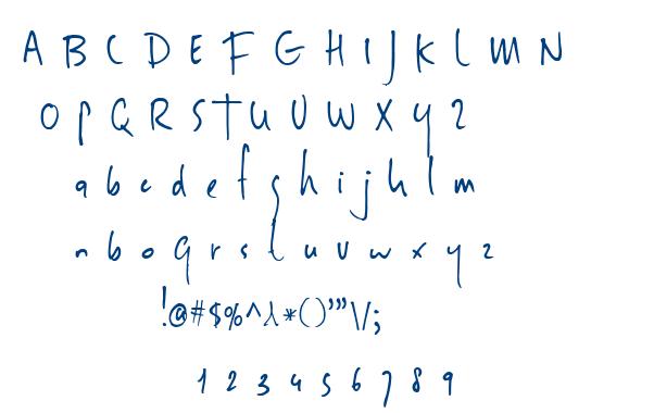 DK Sheepman font