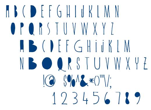 DK Spiderlegs font