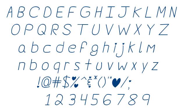 Darlin' Pop font
