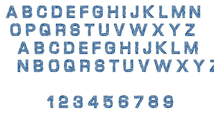Desgarvuda font