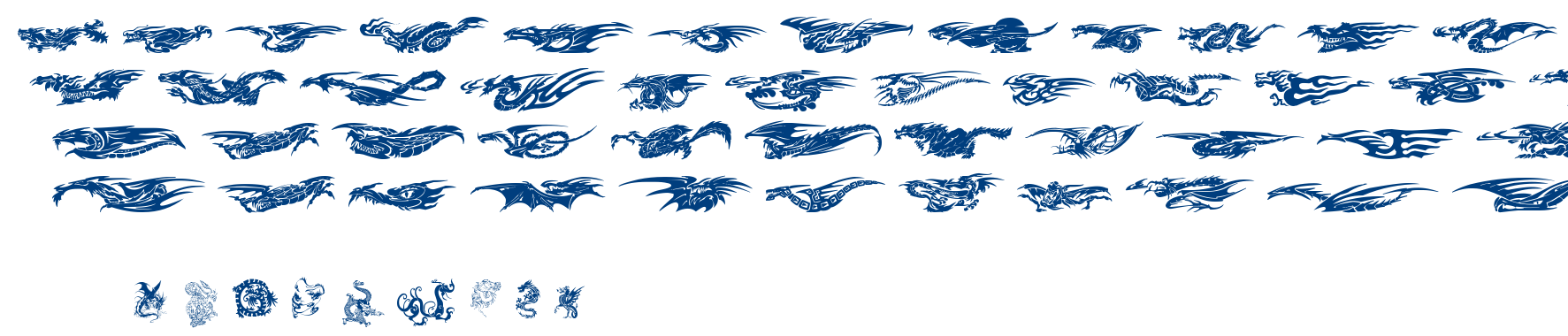 Dragons TFB font