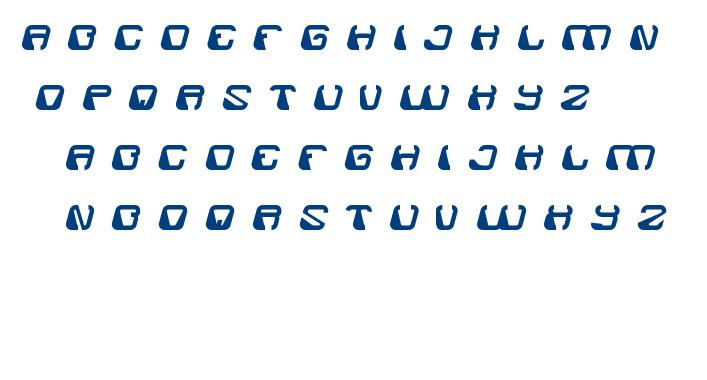 electro magnet font