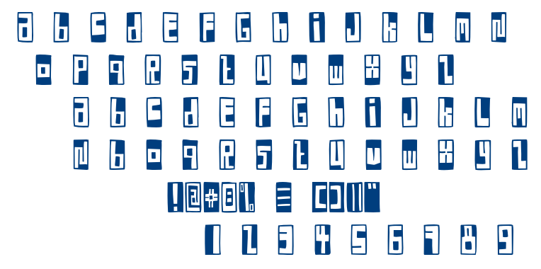 FE Box Font font