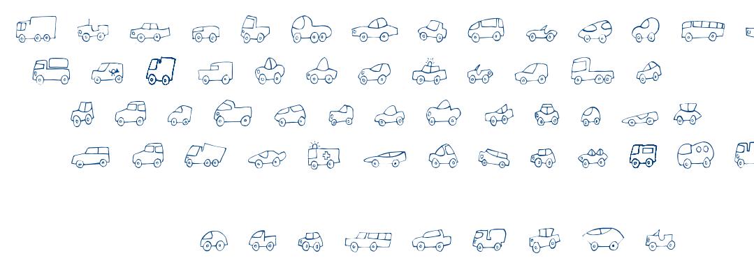 FE Fantastique Cars font