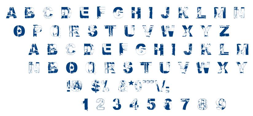 Fallout Font font
