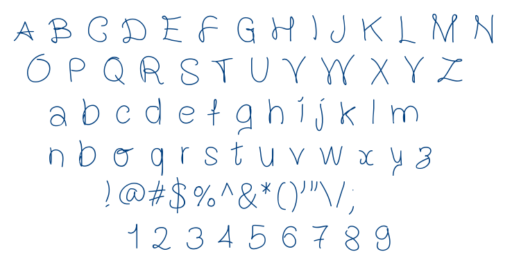 Gaelleing font