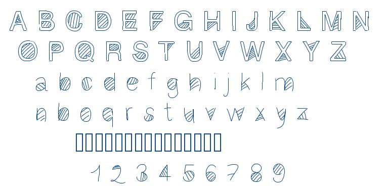 Gaelling 2 font