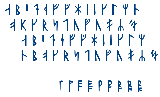 Harald Runic font