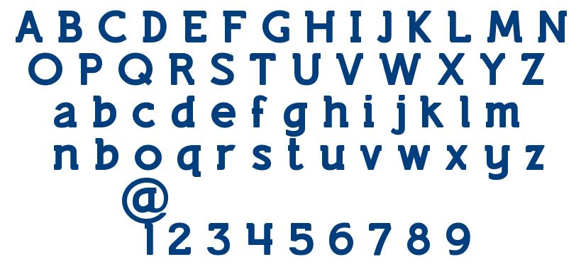 Lifestyle Marker M54 font