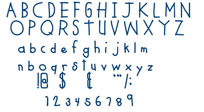 MTF Cool Kid Fat font