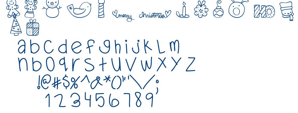 MTF Dear Santa font