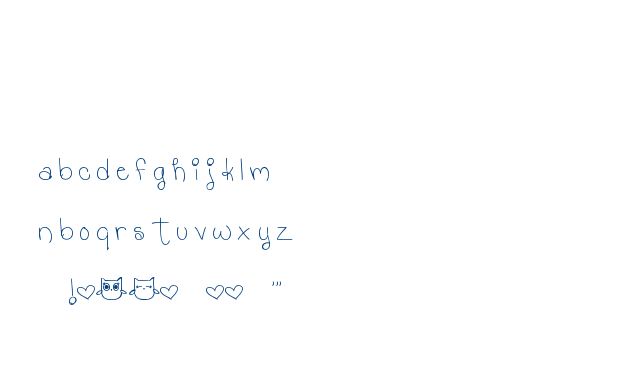 MTF Hooty Coo font