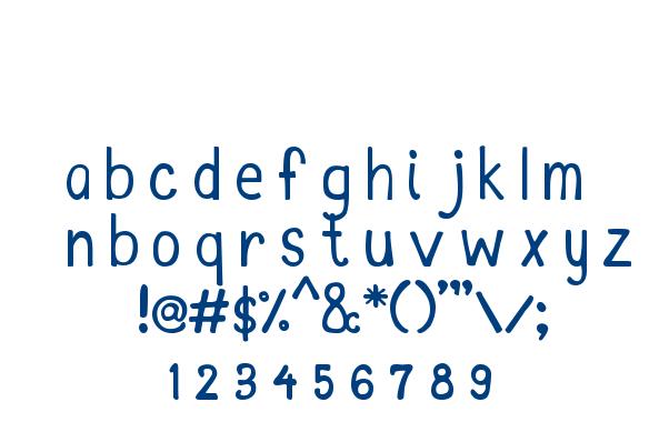 MTF Kim font