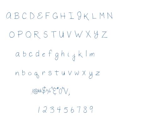MTF Megan font