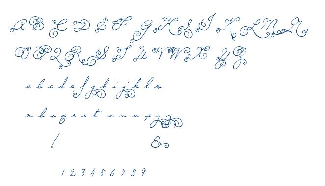 MTF Memory font