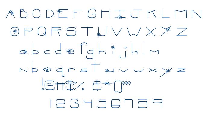 MTF Oopsie font