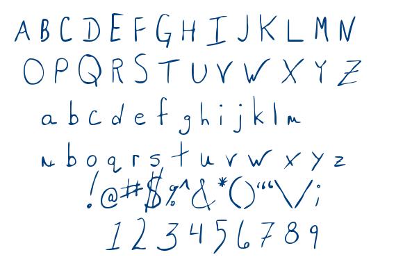 MTF Saxy font