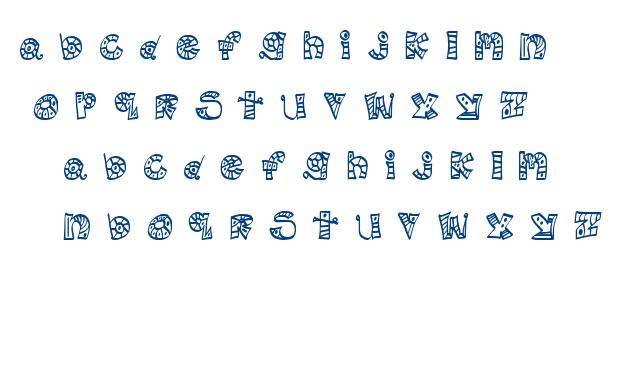 MTF Scribblie font