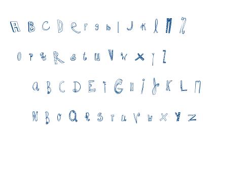 MTF Whacko font
