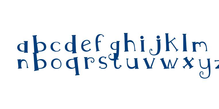 MTF Whimsy font