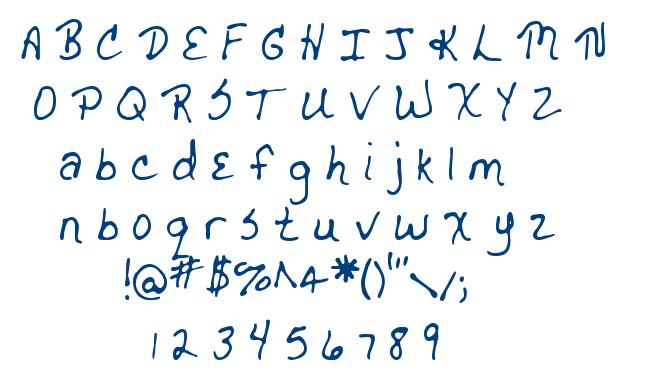 MTF Drgnldy font