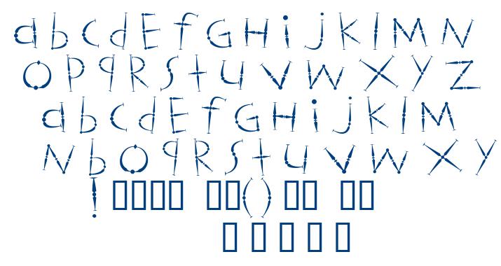 Magicstics font