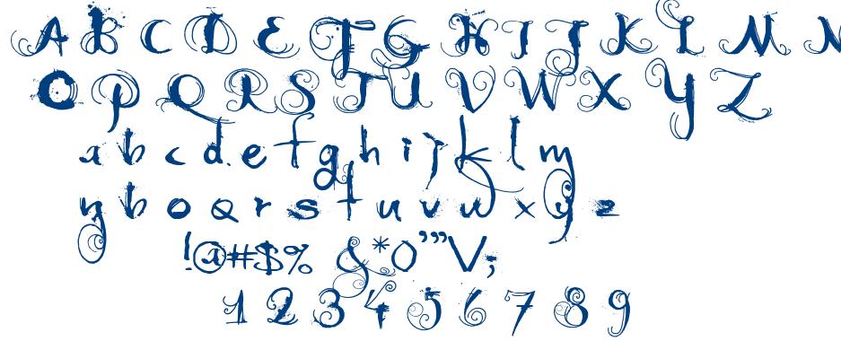 Moonlight Shadow font