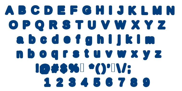 Mybold font