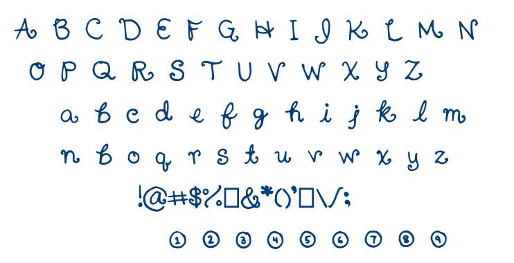 Nanaimo font