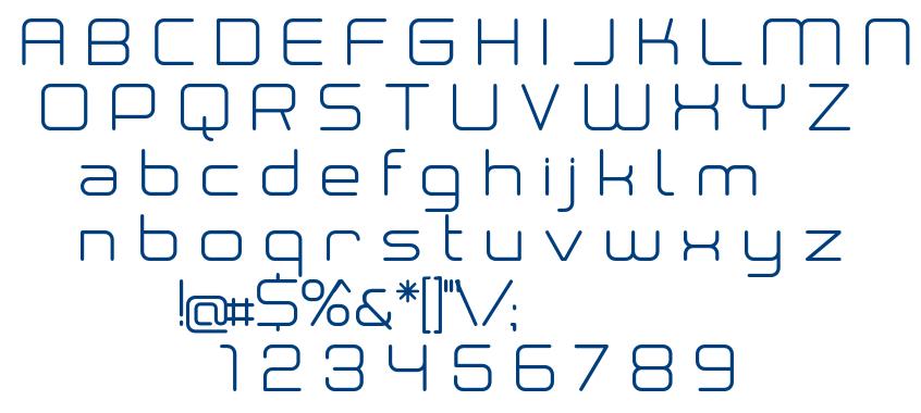 Neogrey Regular font