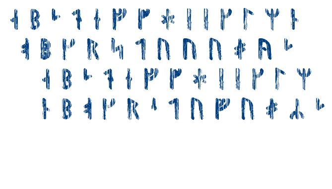 Nidhogg Runic font
