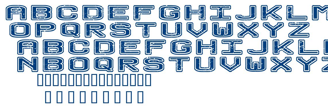 No Honor Roll font