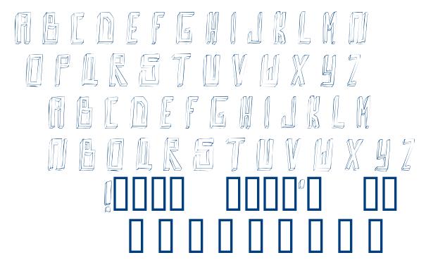 Outta da box font