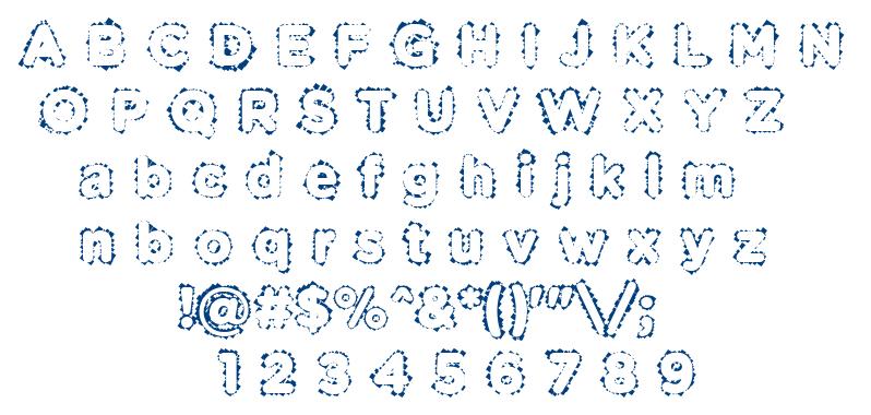 Pabellona (B) Dúplex font