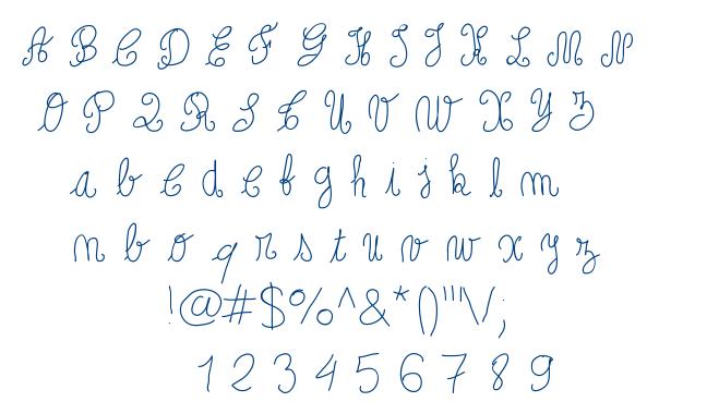 Papoune font