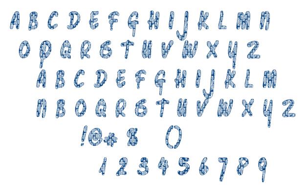 Pawn Shop Pretty font