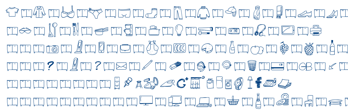 Peax Webdesign free icons font