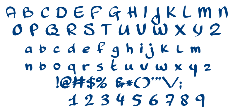 Pinda font