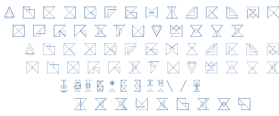 REMARK™ font
