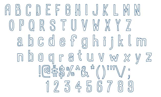 Recto font