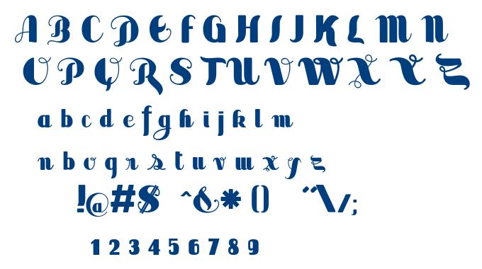 Sabor font