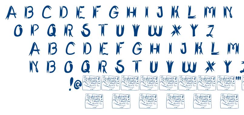 Shark Fighter font