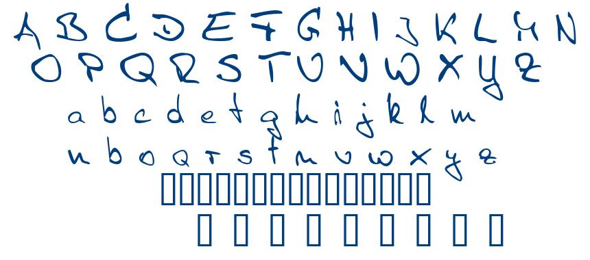Sister R font