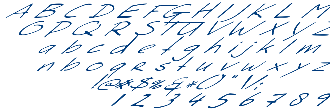 Sleight Of Hand font