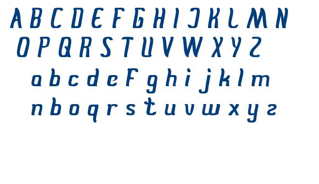 Stay true font