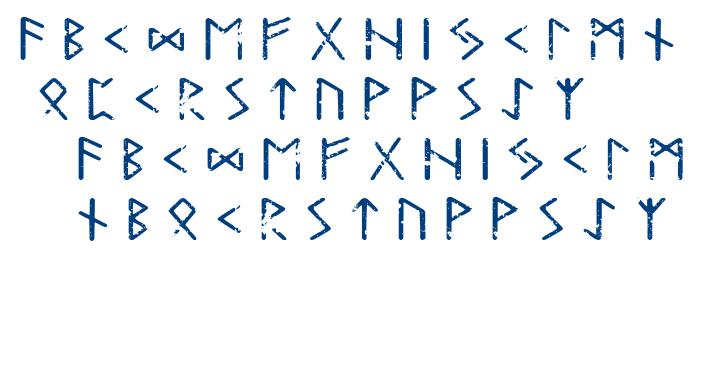 Tjelvar Runic font