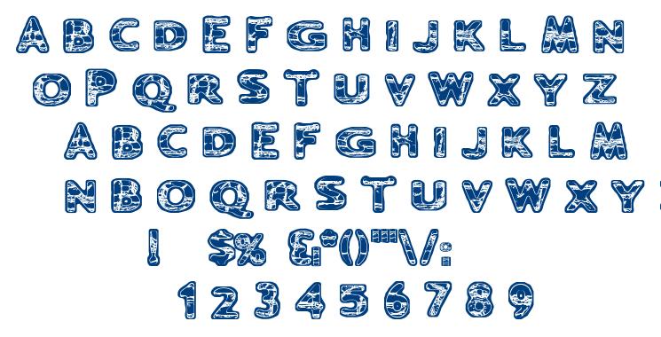 Ugh font