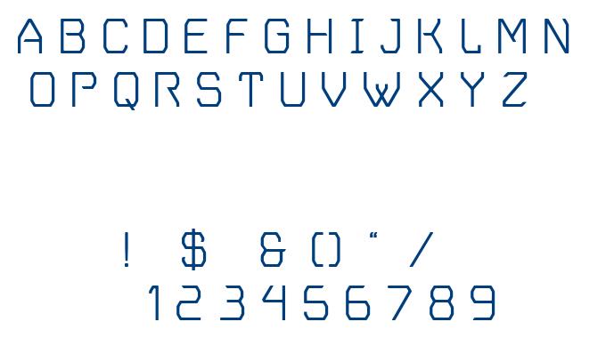 Vger Grotesque font